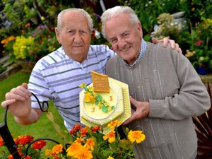 James Ingram and John Everill are celebrating their 50th anniversary together, having met on Bearwood Road in Smethwick in 1950