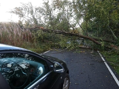 Storm Ali batters Scotland with 100mph gusts