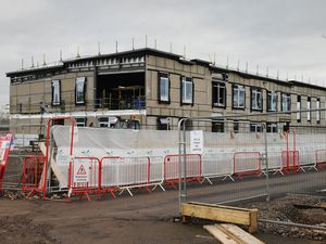 Work continues on the new High Point Academy, at Friar Park Road, Wednesbury
