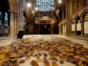 'The Leaves of the Trees' touring artwork installation