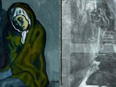 Hidden details uncovered in Picasso's oil painting