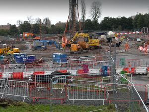 Work starting on the Commonwealth Games aquatics centre in Smethwick