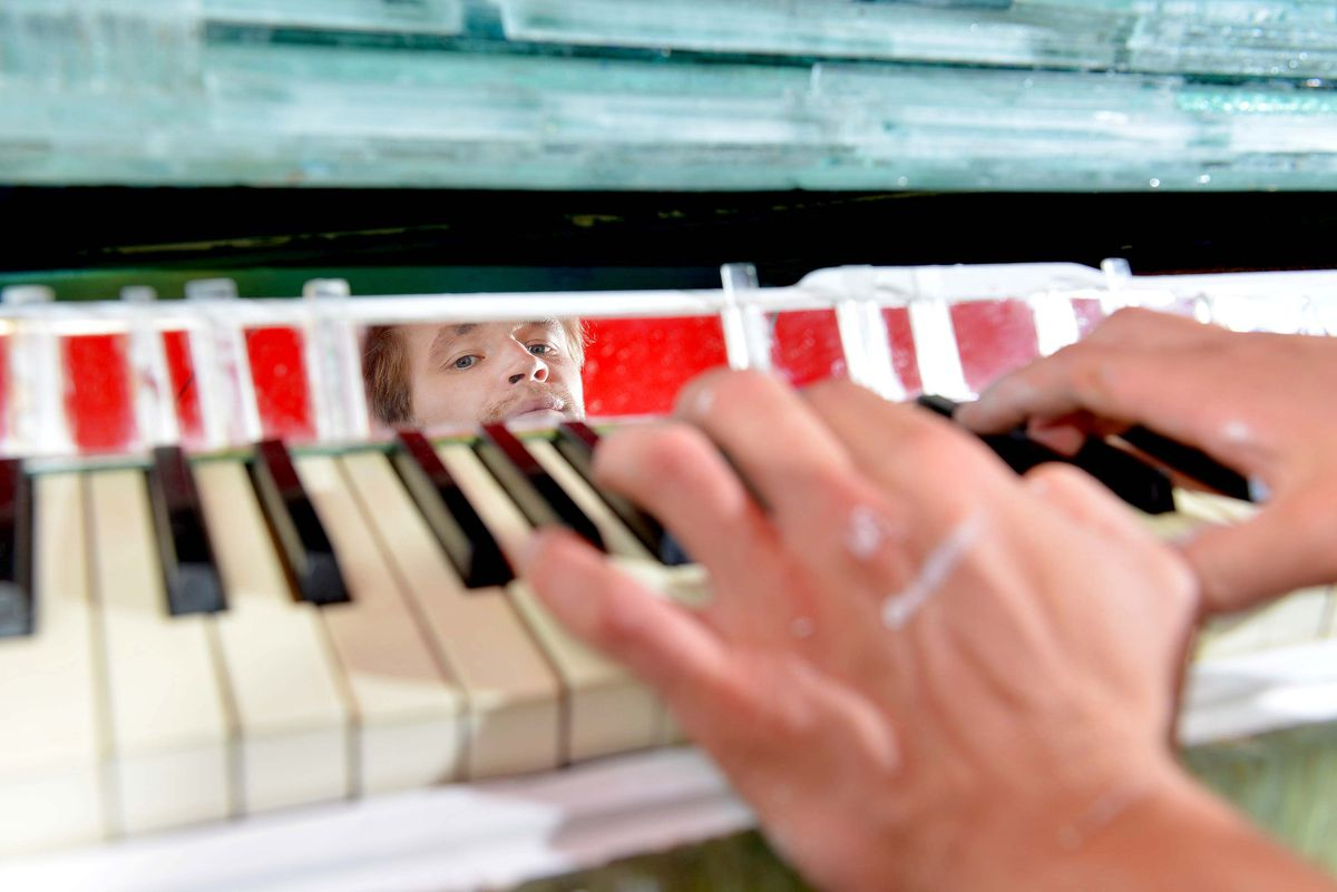 Visitors to the glass festival will be able to try out the instrument