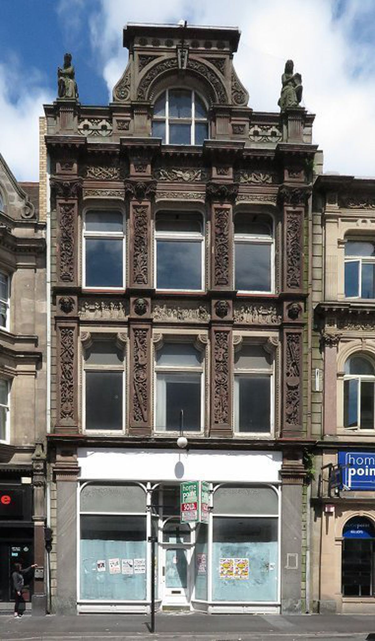 The former Taylor's Music Shop in Bridge Street, Walsall. Photo: Architecture and Interior Design.