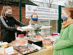 A bake off sale was one of the fundraisers held to come up with the £12,000 needed.