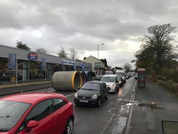 Wolverhampton News Car Accident