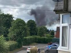 Stourport garden nursery engulfed by blaze