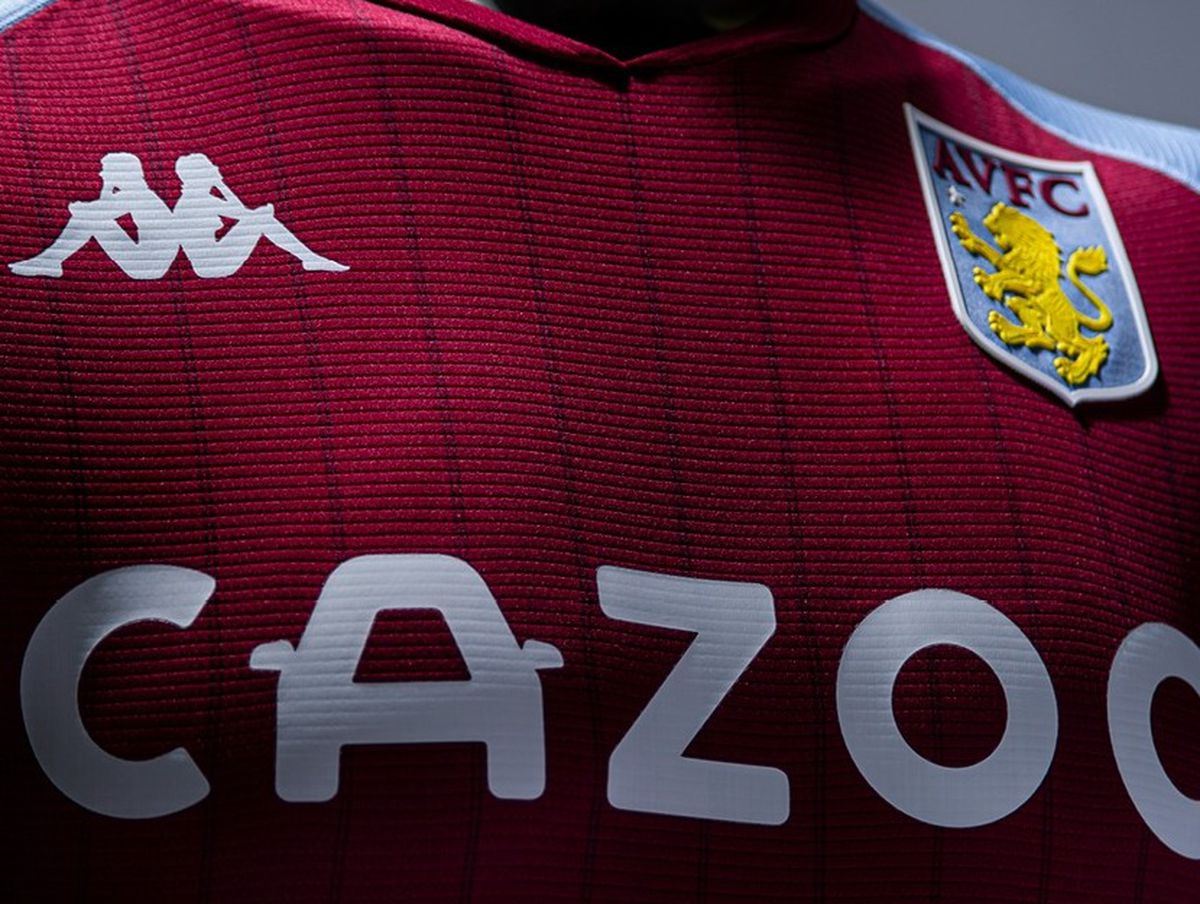 Aston Villa's new home kit (Photo: AVFC)