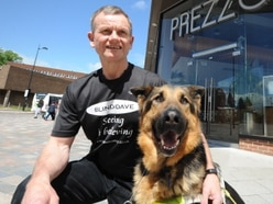 Blind Dave reveals sadness after guide dog Seamus dies on Christmas Day