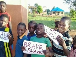Team Tibbs goes global with support from Ugandan children