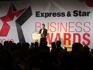 WOLVERHAMPTONPIC MNA PIC DAVID HAMILTON PIC  EXPRESS AND STAR 6/06/2019 Express and Star Business Awards 2019, at Wolverhampton racecourse. Compare Johnny Phillips..