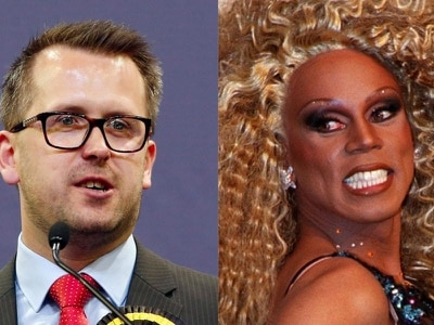 A Scottish MP has suggested he wants to go on RuPaul's Drag Race