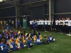 West Brom stars stun schoolchildren with tournament appearance