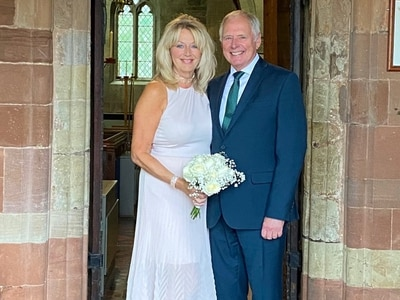 BBC presenter Nick Owen ties the knot with long-term partner
