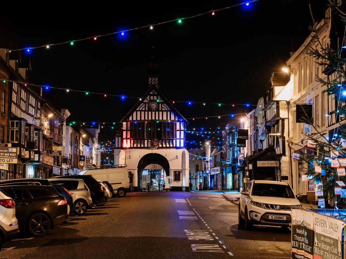 Bridgnorth Christmas Lights 2019