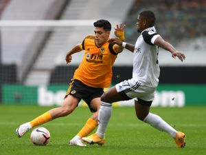Raul Jimenez of Wolverhampton Wanderers and Ivan Cavaleiro of Fulham. (AMA)