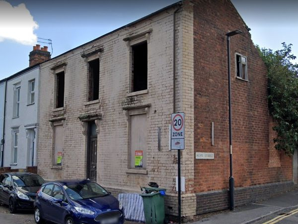 The building in Hope Street, Walsall, which has been derelict for around 20 years. Pic: Google