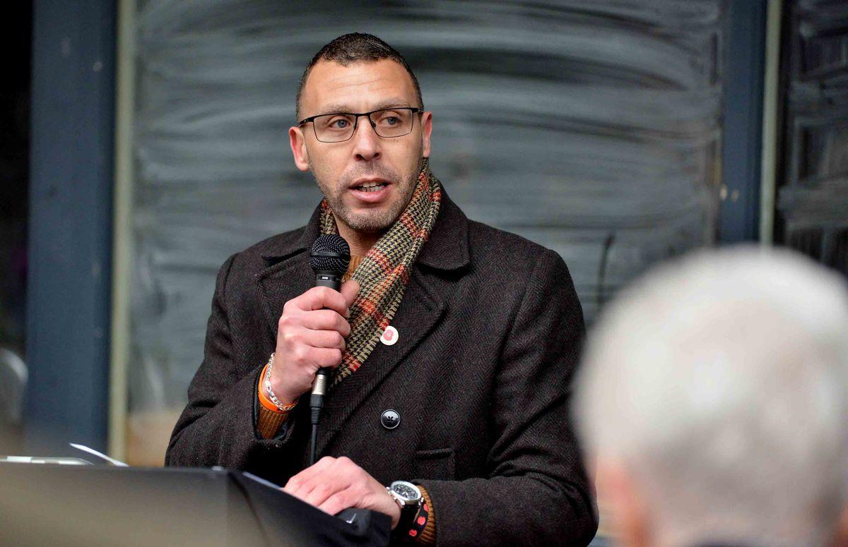 Campaigner Jason Connon