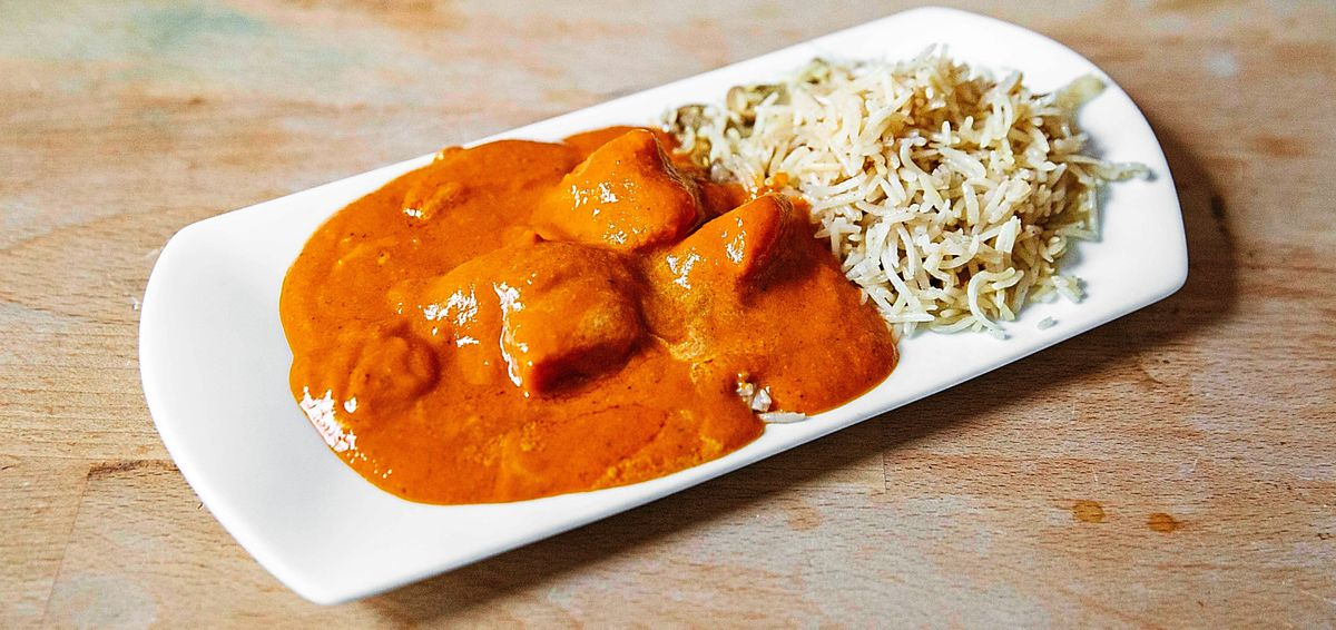 Champion chicken curry and rice