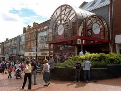Comic-con style event in Walsall shopping centre