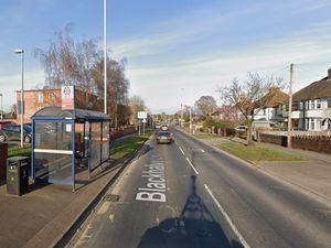 The crash happened on Blackhalve Lane near Lidl. Photo: Google
