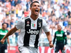 Ronaldo opens his account for Juve with brace in win over Sassuolo