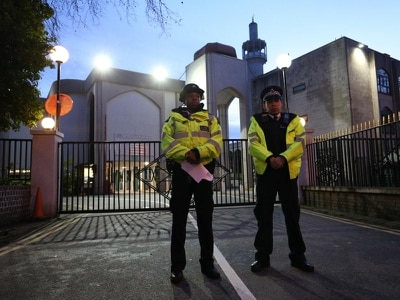 Prayer leader back at home after mosque stabbing