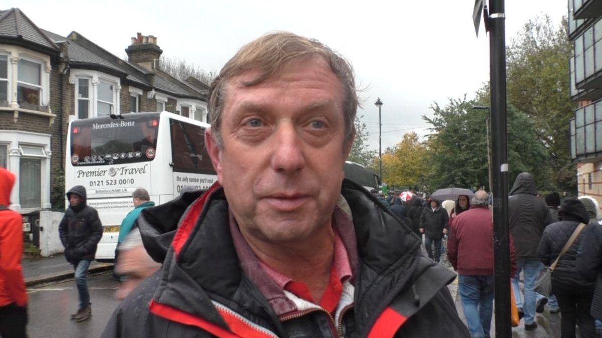 Walsall fans spoke with Luke Hatfield
