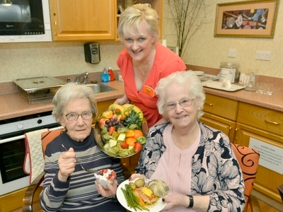 Hearty helpings of healthy dishes served to Wolverhampton care home