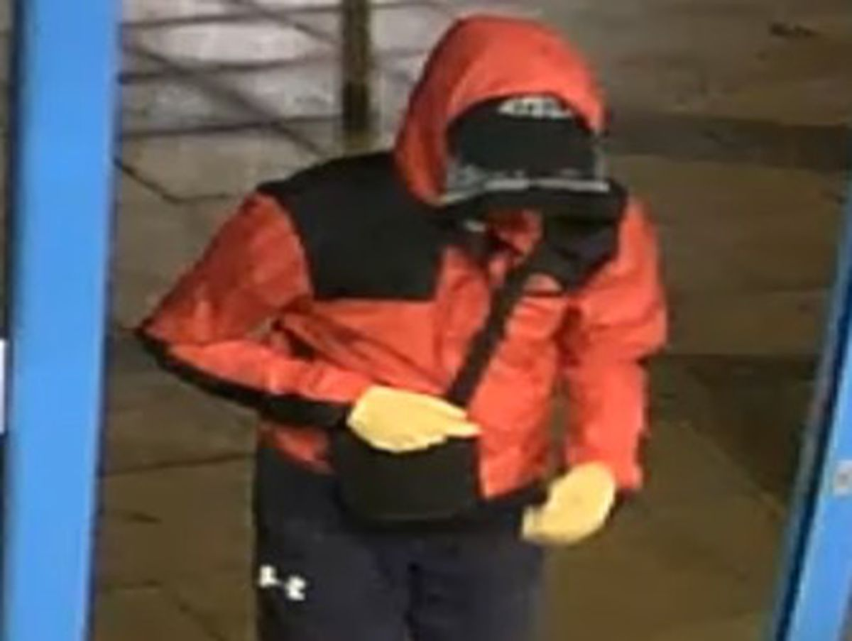 This man is sought in connection with the double stabbing at The Hawthorns station, West Bromwich