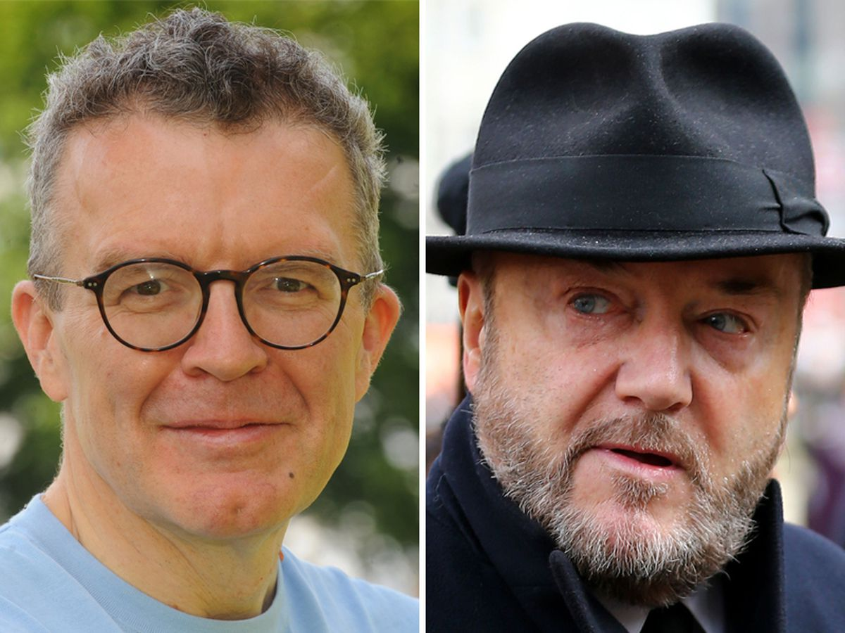 George Galloway, right, is looking to unseat Tom Watson, left