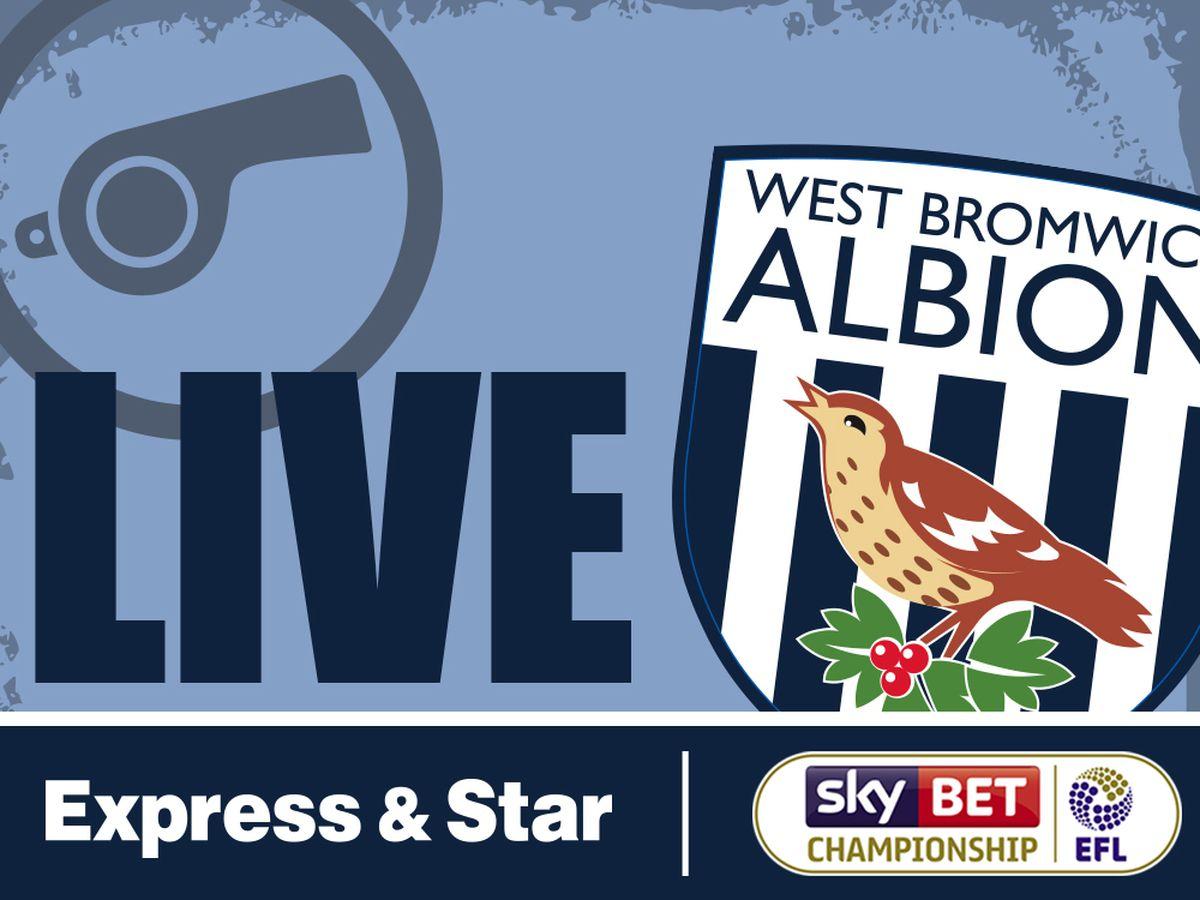 Preston v West Brom - LIVE