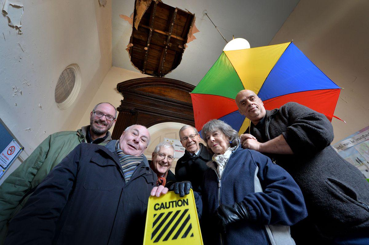 Mark Wisbey, Jon Harcourt,Andrew Mottram ,Michael Brain, Mary McGraghan and Adrian Baillie