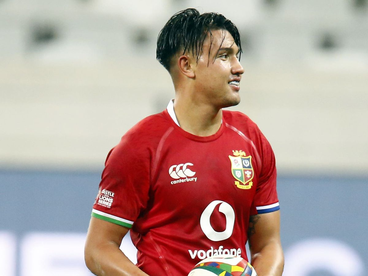 Marcus Smith in action for the British and Irish Lions against the Stormers