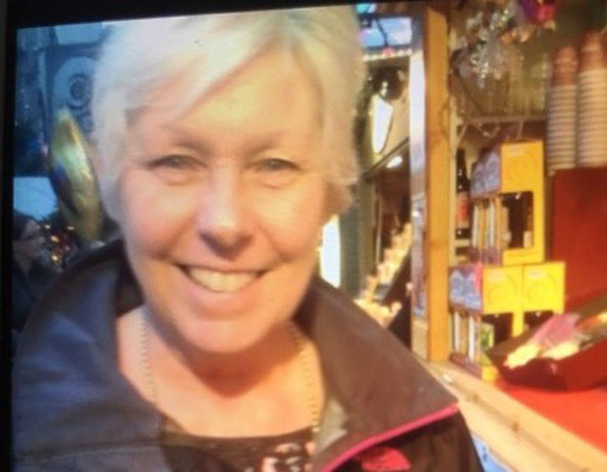 Belinda Rose at Birmingham Christmas Market in 2014