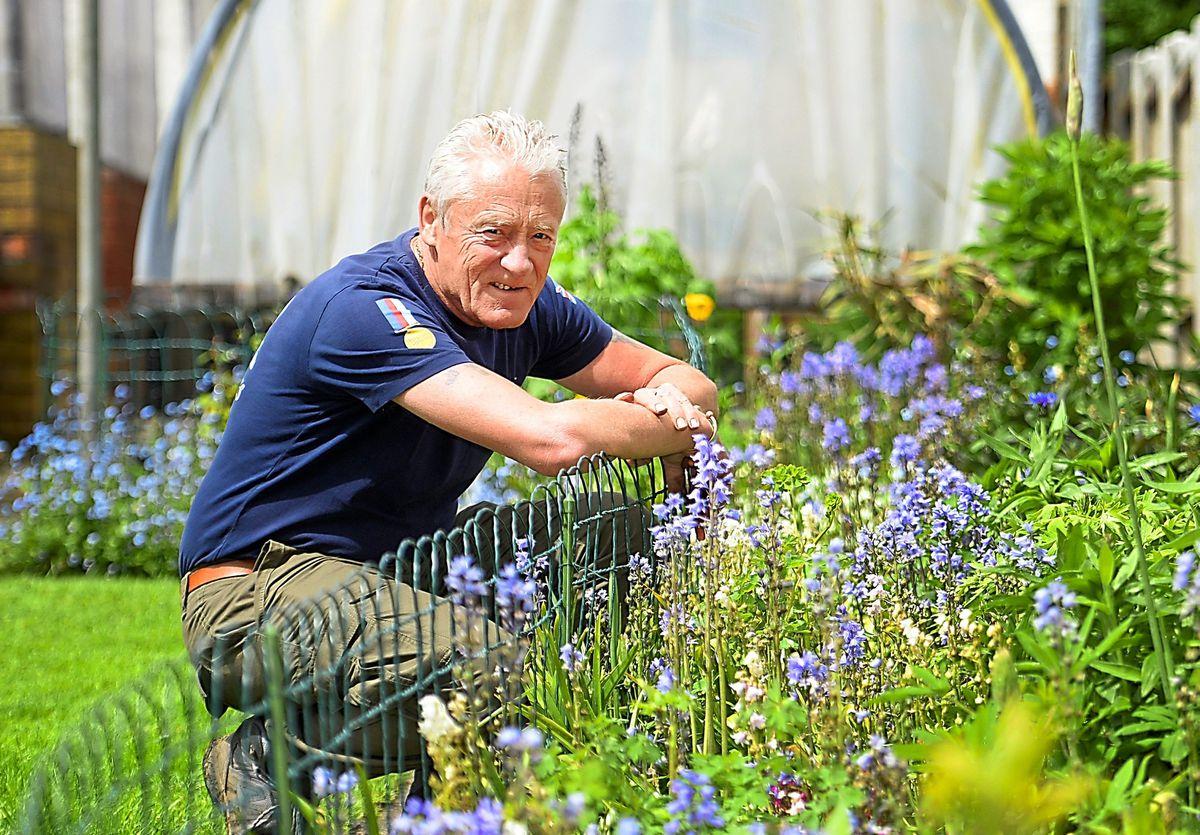 Mick caught the gardening bug 40 years ago