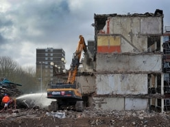 Heath Town's flat! – Tower blocks demolished to make way for new homes