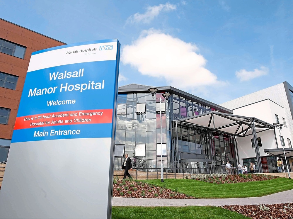 Walsall Manor Hospital Car Parking Charges