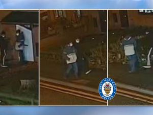 Police are trying to locate these men. Photo: Wolverhampton Police