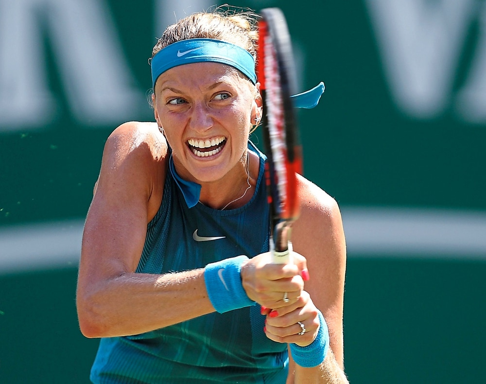 Champion Petra Kvitova returns to Birmingham