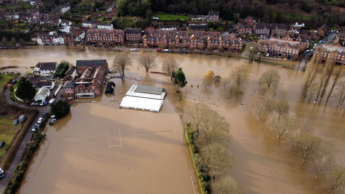 Flooding in Bridgnorth
