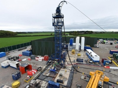 Tremor measuring 2.23 on Richter scale recorded at UK fracking site