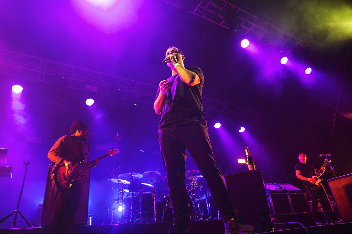 Mike Skinner, of The Streets, headlined MADE Festival. Picture: Paul Reynolds