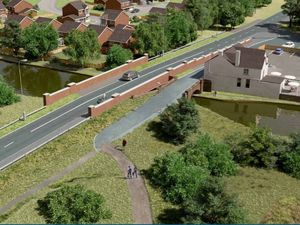 Visualisation of the proposed York's Bridge in Pelsall