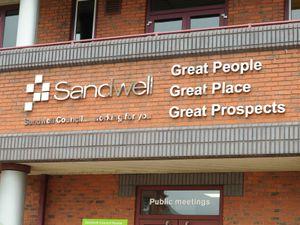 Sandwell Council's headquarters in Oldbury