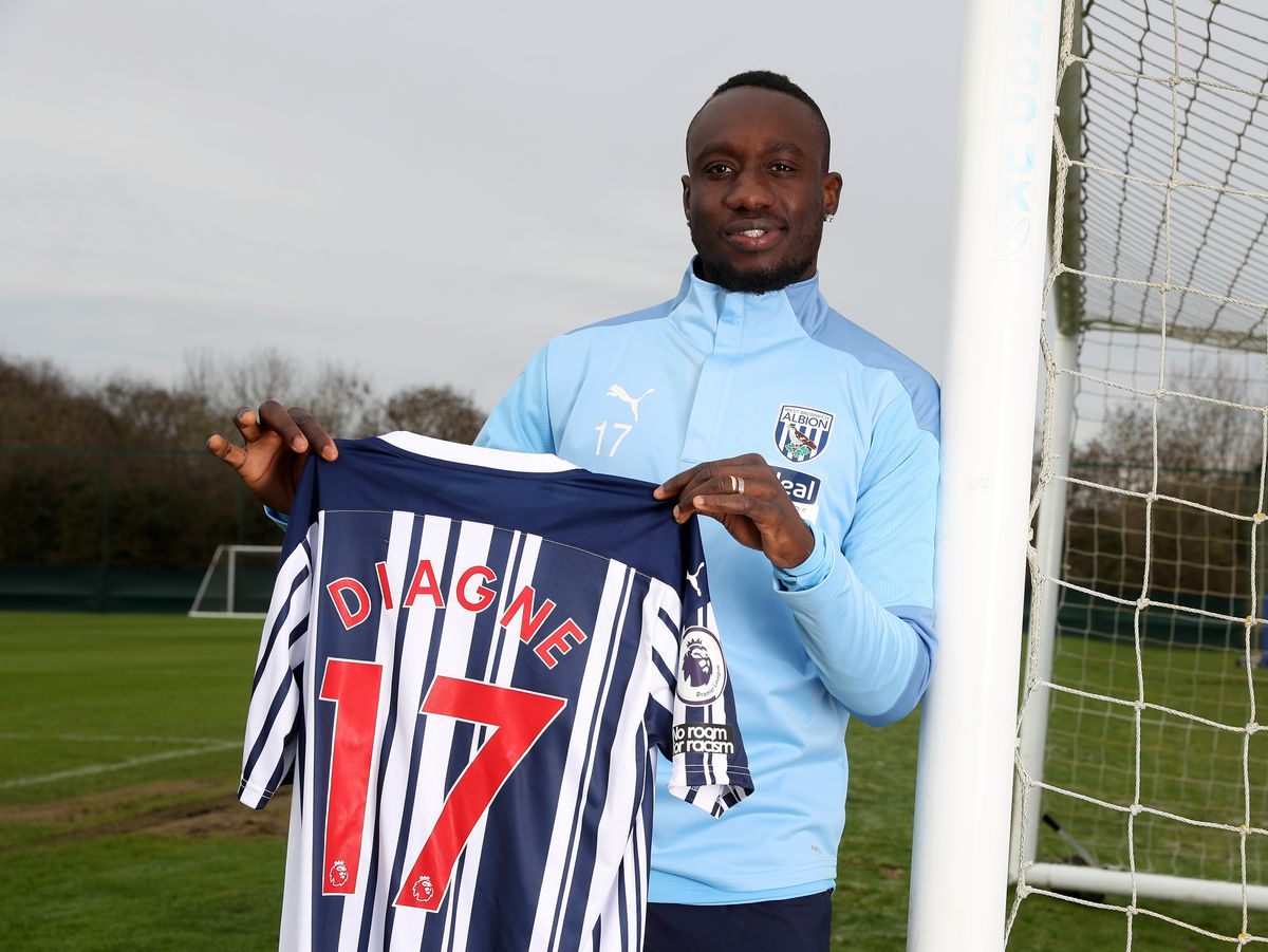 New signing Mbaye Diagne of West Bromwich Albion. (AMA)