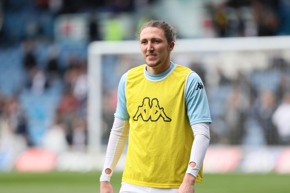 Luke Ayling of Leeds United. (AMA/Sam Bagnall)