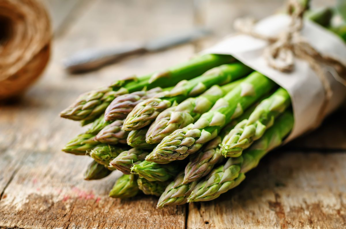 The asparagus hasn't delivered the goods this year