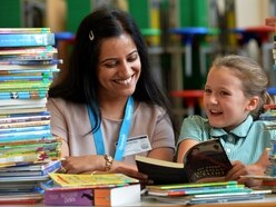 Booking the time to help pupils at Tettenhall school