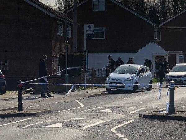 Man injured after shots fired during Wolverhampton street violence